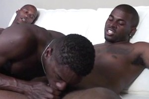 Straight black boys trying something new
